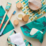 Beebee Wraps The Teeny Pack Beeswax Ocean Collection Theecologik eco products
