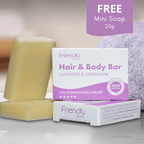 Friendly Soap Hair and Body Guest Soap Theecologik eco products