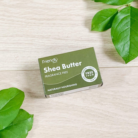 Friendly Soap Shea Butter Natural Face Cleansing Bar Theecologik eco products