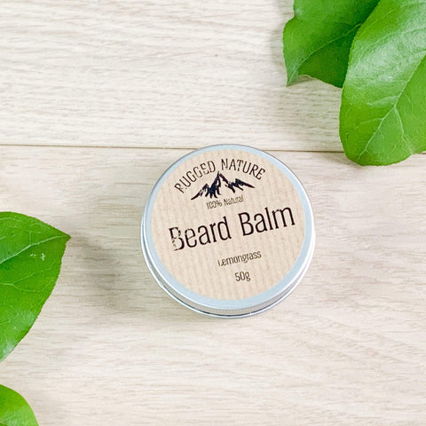 Lemongrass Beard Balm Theecologik eco products