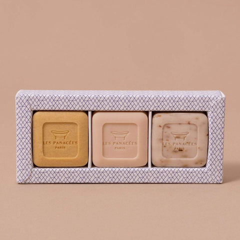 "Les Panacées ""Summer tourbillon"" Soap Set Theecologik eco products"