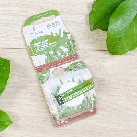 Plant-Based Vegan Dental Floss Theecologik eco products
