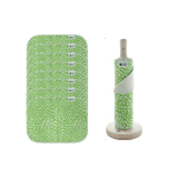 Reusable Unpaper Towels 10 sheets Green Leaves Theecologik eco products