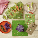 The Food Wrap Company Medium Kitchen Pack - Land Theecologik eco products