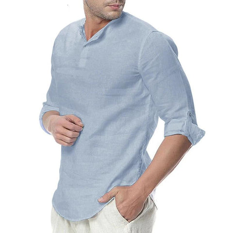LONG SLEEVE BASIC SHIRT
