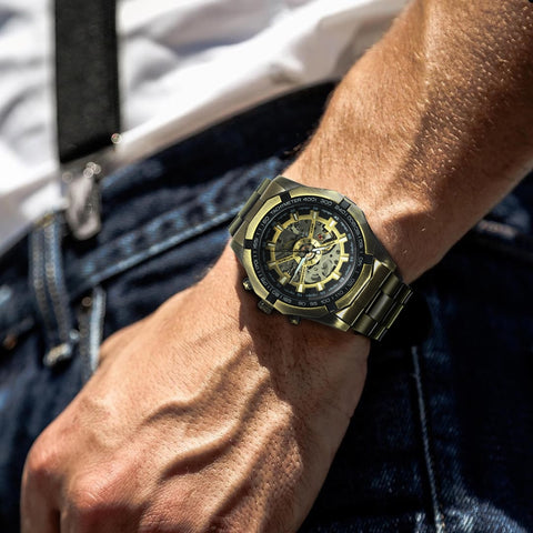 LUXURY STEAMPUNK MECHANICAL WATCH