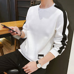 SIDE STRIPE SWEATSHIRT