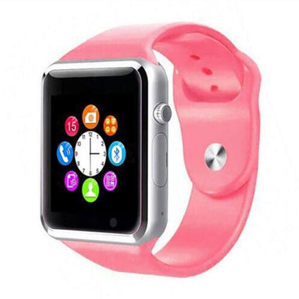 BLUETOOTH SMART WATCH WITH CAMERA AND PEDOMETER