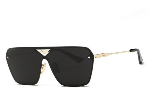 RIMLESS SUNGLASSES BLACK