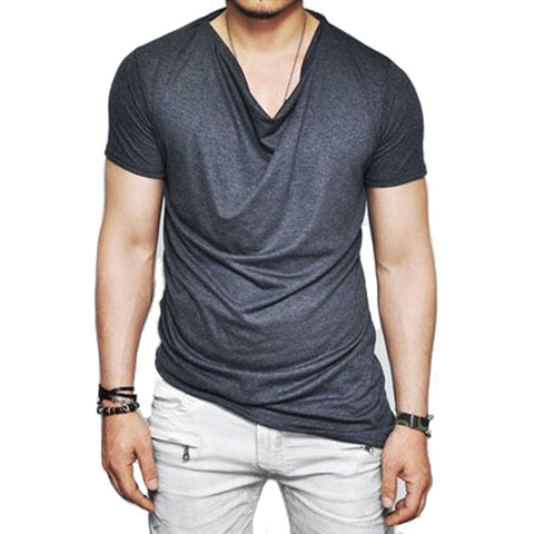 ASYMETRICAL STYLISH T-SHIRT WITH ZIPPER