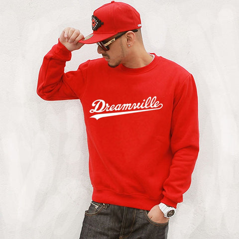DREAMVILLE LETTER COTTON SWEATSHIRT