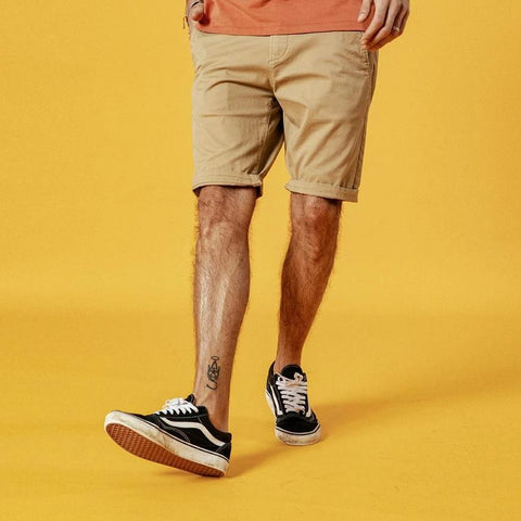 CASUAL PLAIN SHORTS