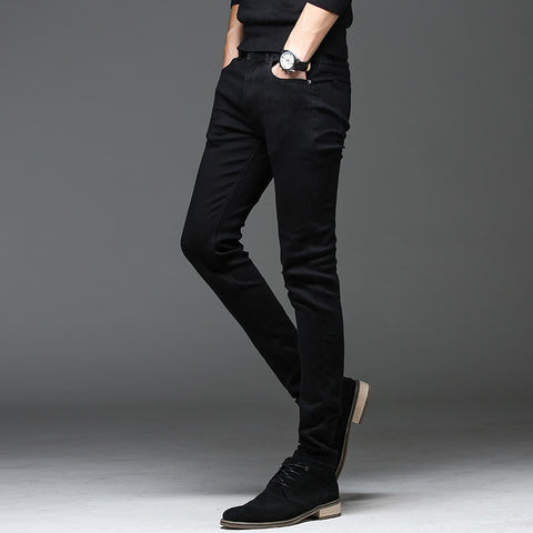 CASUAL BLACK JEANS