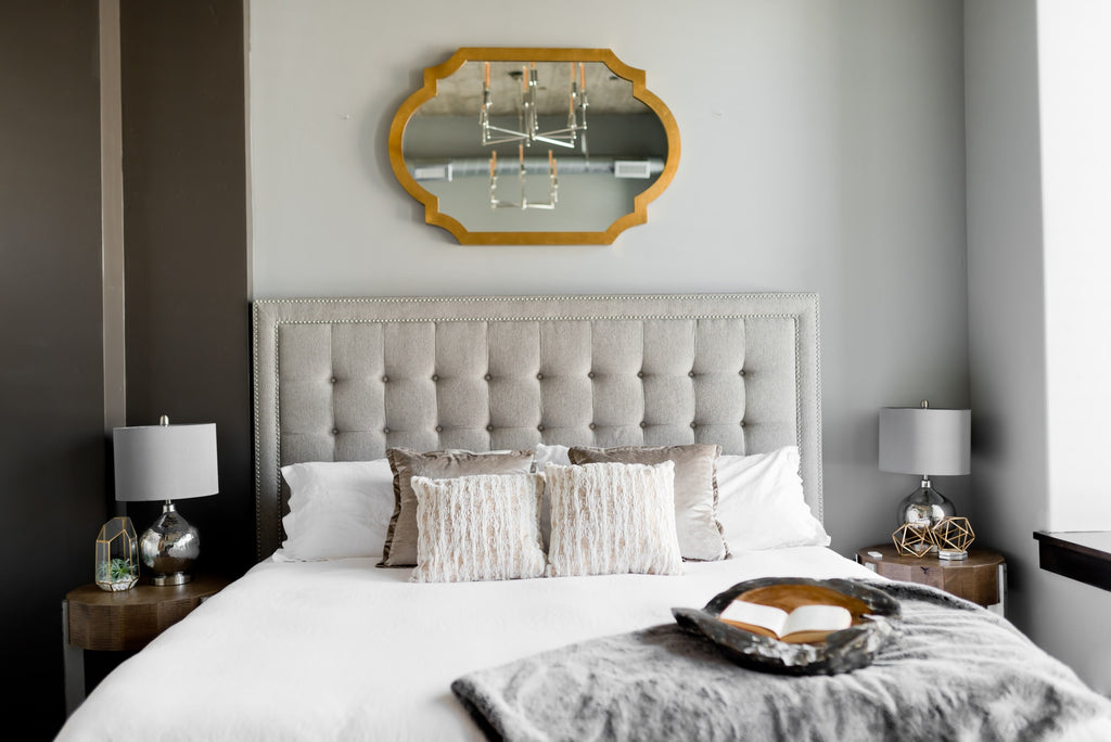 Classic style guest bedroom