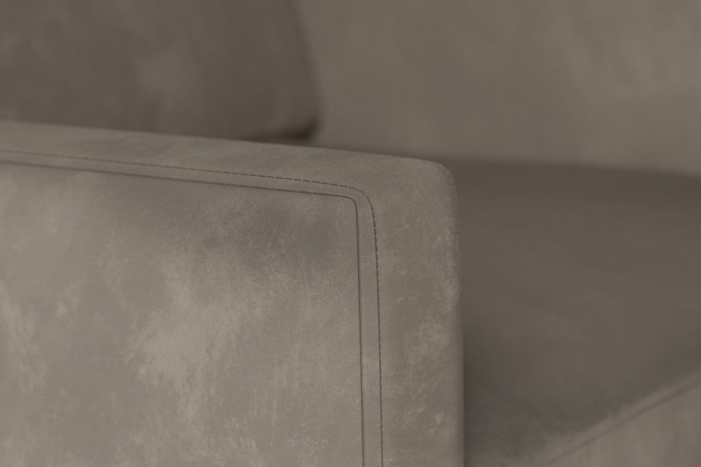 Model 01 Velvet Armchair - Elephant