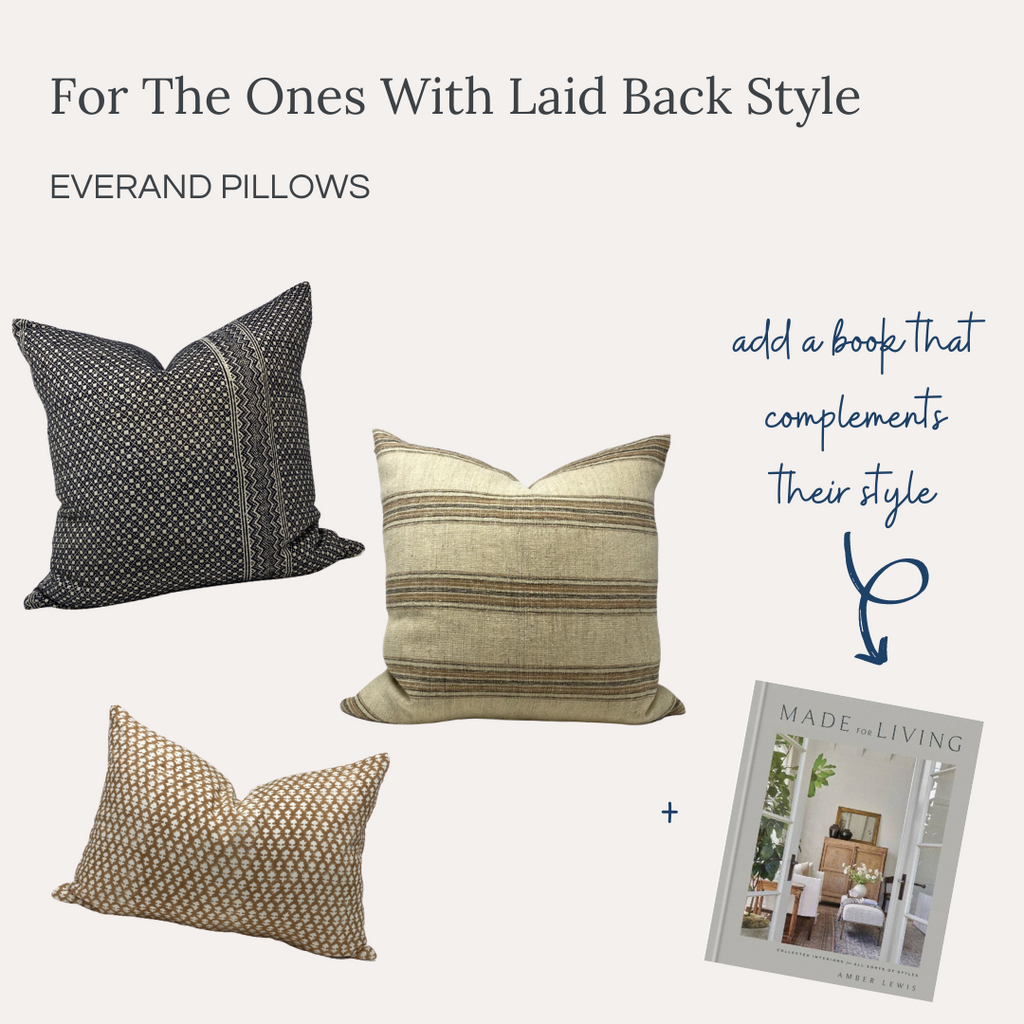 Everand Gift Guide 2020 Laid Back Style Throw Pillows