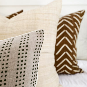 Everand block print mudcloth throw pillows