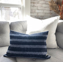 Load image into Gallery viewer, CUSTOM Pillow Cover - Indigo Shibori No.1
