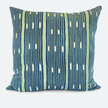 Load image into Gallery viewer, 20x20 Pillow Cover - Blue Baoule No.25
