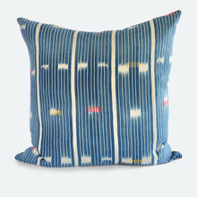 Load image into Gallery viewer, 20x20 Pillow Cover - Blue Baoule No.2