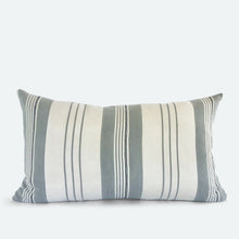 Load image into Gallery viewer, Small Lumbar Pillow Cover - Grey Baoule No.1