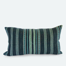 Load image into Gallery viewer, Small Lumbar Pillow Cover - Grey Karen Hmong No. 4