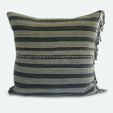 Load image into Gallery viewer, 18x18 Pillow Cover - Grey Karen Hmong No.7