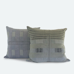 20x20 Pillow Cover - Grey Naga No.1