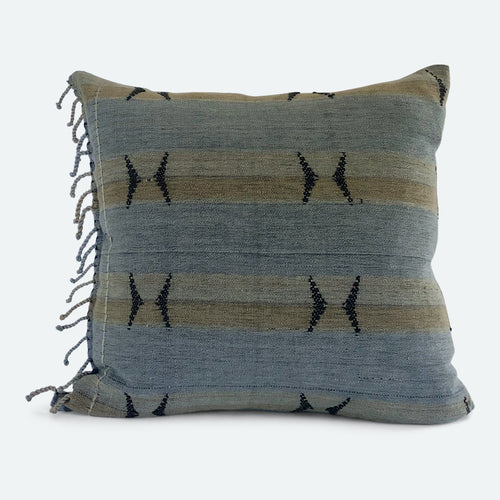 18x18 Pillow Cover - Grey Naga No.2