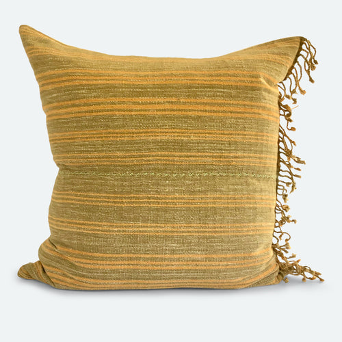 20x20 Pillow Cover - Olive Karen Hmong No.1