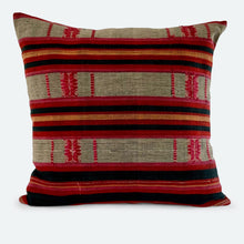 Load image into Gallery viewer, 18x18 Pillow Cover - Red & Black Naga No.1