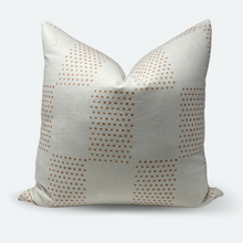Load image into Gallery viewer, 20x20 Pillow Cover - Dusty Clay Checkered Block Print