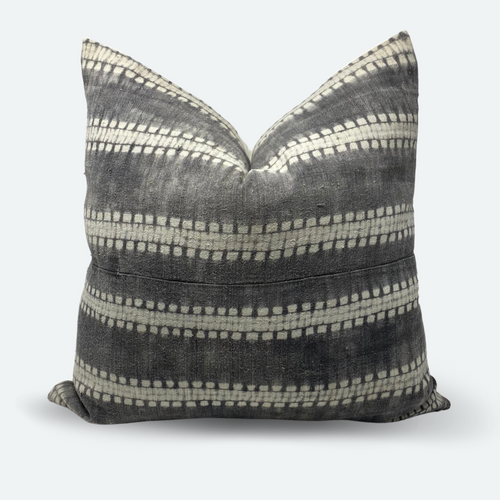 20x20 Pillow Cover - Grey Shibori No. 1