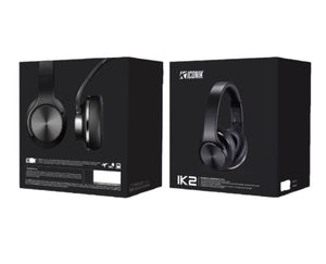 ICONIK DUO (IK2) Wireless Headphone/Speaker - Black
