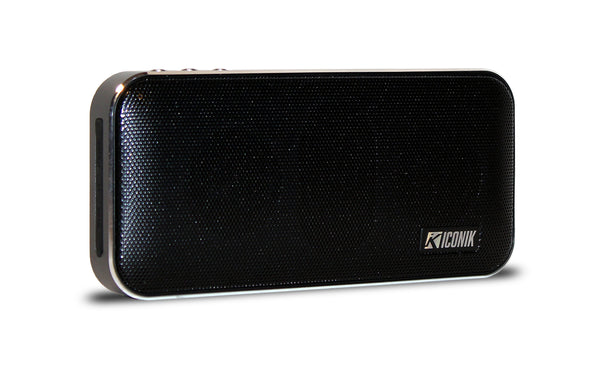 Wireless BT Speaker/Power Bank - Black