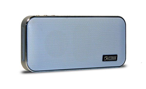Wireless BT Speaker/Power Bank - White