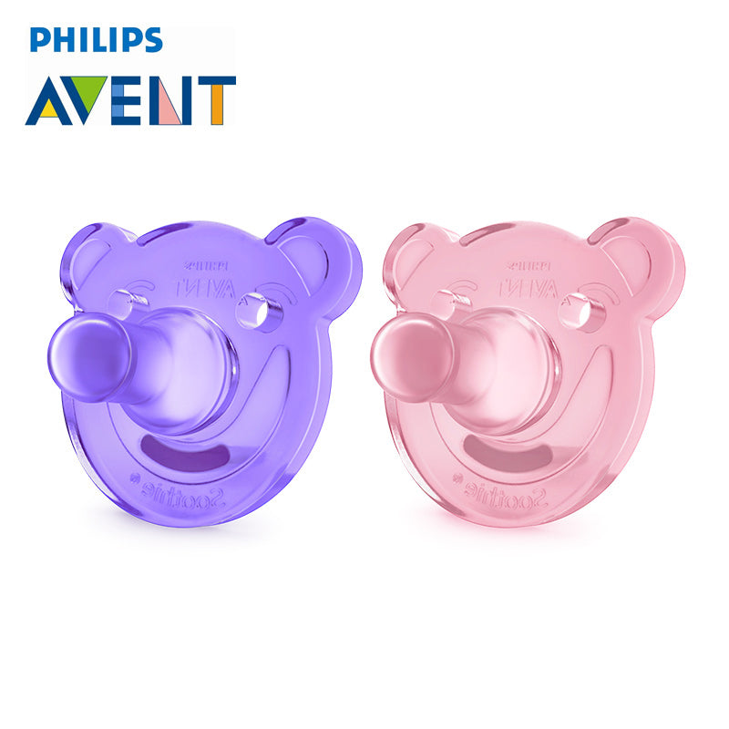 2Pcs Soother Orthodontic Teether