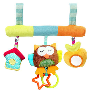 Spiral Activity Hanging Toy Rattle