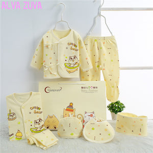 Cotton Newborn Baby Gift Set (7PC/Sets)