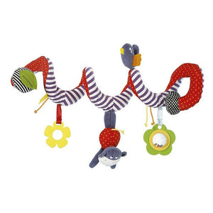 Spiral Bed & Stroller Hanging Bell Toy