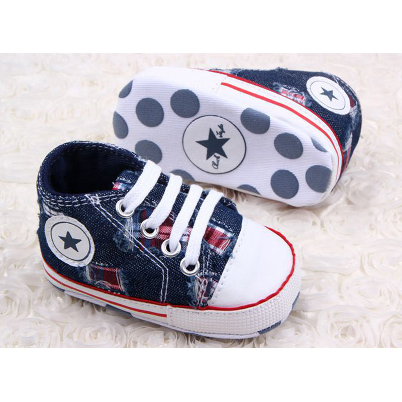 Canvas Star Sneakers