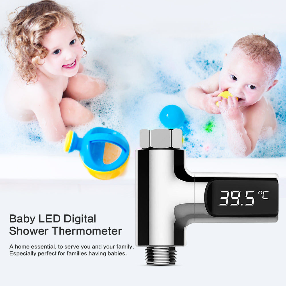 LED Digital Shower Thermometer  Monitor