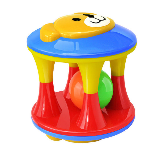 Rattles colorful ball music education toy