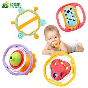 Soft hand bell mobile  Rattle