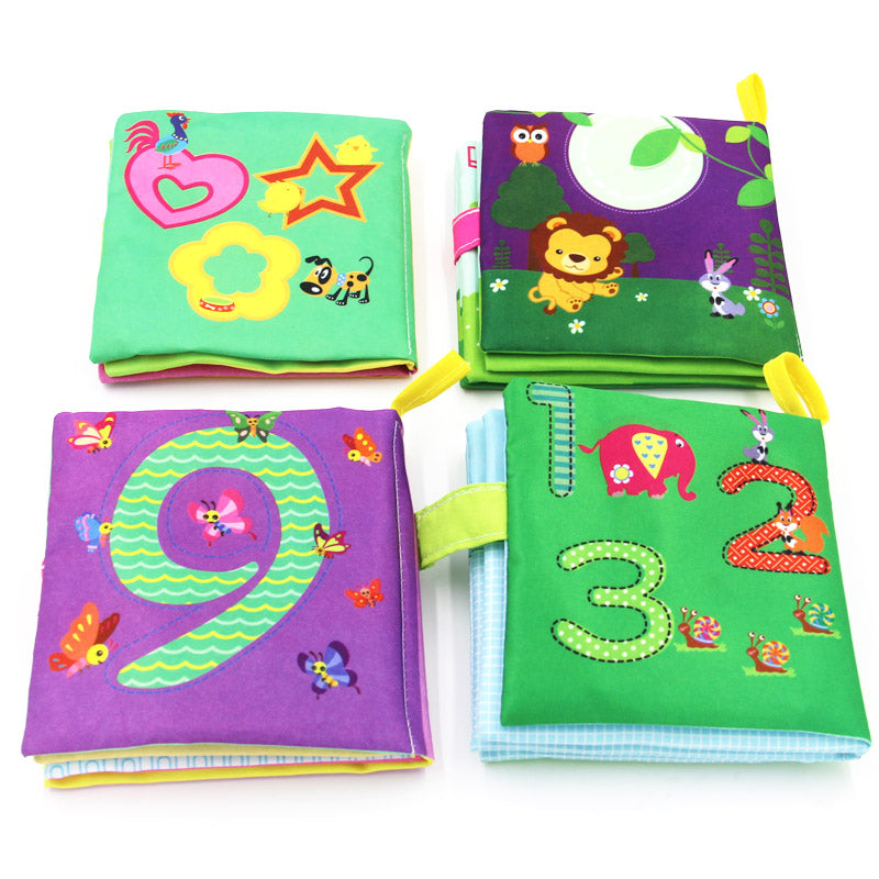 Cloth Books Rustle Sound Stroller Toy