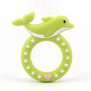 Dolphin Silicone Teething Pacifier