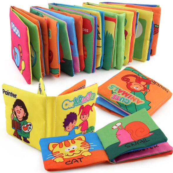 Books Cloth Early Development Learning