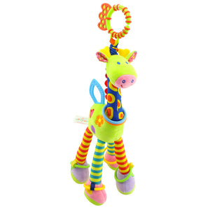Plush Giraffe Deer Rattles Mobile