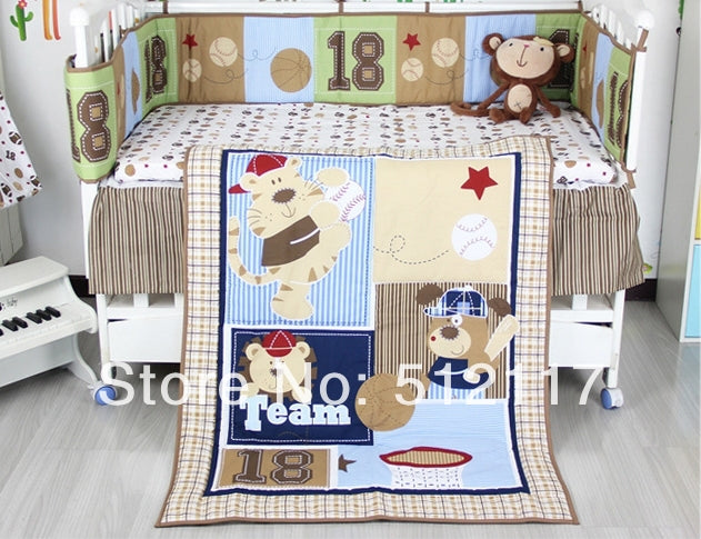 Forest Animals 5pcs Bedding Set 5