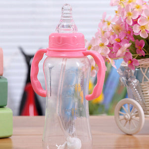 Baby Pacifier for Feeding Bottle